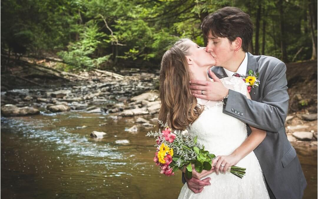 A Wedding in the Woods at Swallow Falls State Park