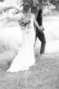 deep creek wedding at chanteclaire farm with derek and diane