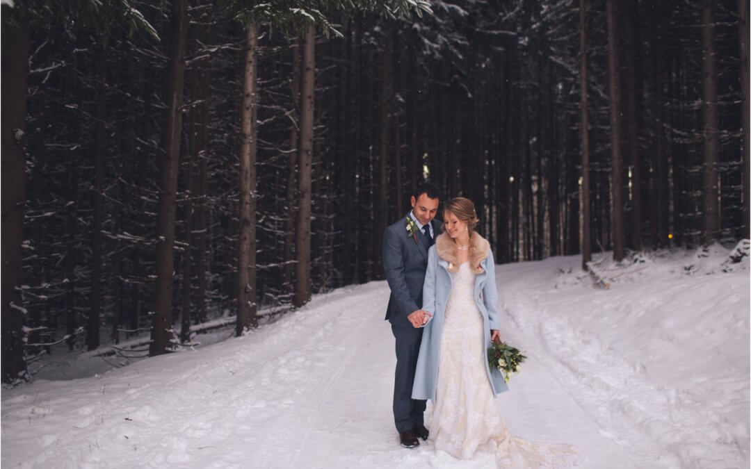 SNOWY ELOPEMENT AT SAVAGE RIVER LODGE