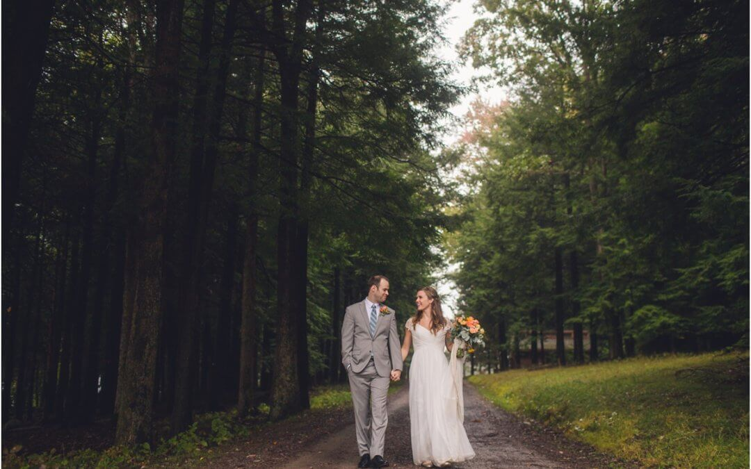 A MAGICAL FOGGY WEDDING