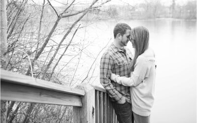 A Cozy Deep Creek Engagement
